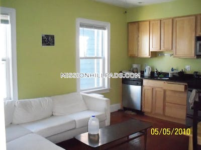 Mission Hill 4 Beds 1 Bath Boston - $4,000