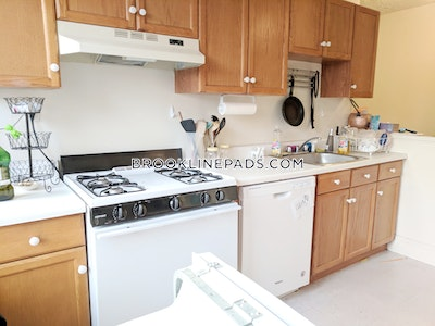 Brookline By far the best 2 bed 1 bath apt available in Beacon St  Cleveland Circle - $2,575 No Fee